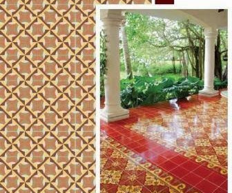 Cement Ceramic Central - Cement tiles for backyard